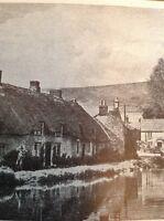 Ephemera 1947 Picture Sutton Poyntz Near Weymouth Village View