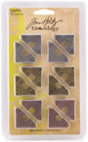 Tim Holtz Idea-ology Corners Embellishments Scrapbook