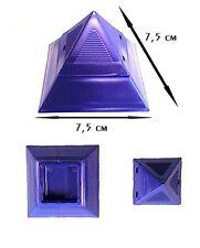 Lila Pyramide Tiegel & lila Deckel 20ml für UV Gel Creme Powder Top Markenware