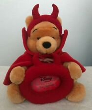 More details for disney store winnie the pooh devil halloween plush soft toy picture photo frame