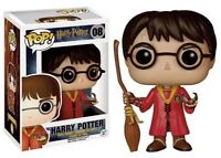 NEW HARRY POTTER with Broom - Quidditch Clothing 08 POP MOVIE Vinyl Funko 5902