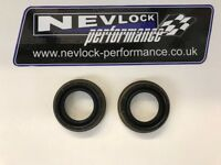 VAUXHALL ASTRA ZAFIRA M32 6SP GEARBOX PAIR OF GENUINE DRIVESHAFT DIFF OIL SEALS