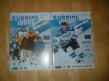 2 X Coventry Blaze V Cardiff Devils Ice Hockey