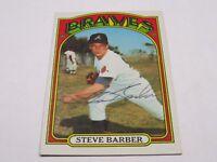 Steve Barber Autographed Baseball Card