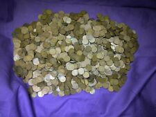 Lot of 2500 Mixed Teen Dates 1909 - 1919 Lincoln Wheat Cents Pennies!!