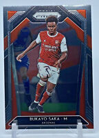 2020-21 Panini Prizm Premier League BUKAYO SAKA RC Rookie Card #40 ARSENAL