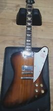 Burny Firebird 1990 Tobacco Burst + Gator Extreme Hard Case Great Condition