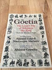 Goetia satanique Grimoire Magick occulte Sorcellerie Magie entrer Gothique Rune Crowley
