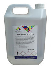 Phosphoric Acid Descaler Rust Remover 75% Safe On Metal Surfaces - 5L