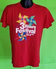 Vintage 1980s Three 3 Rivers Festival Shirt - Ft. Wayne Indiana Screen Stars - L