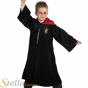 Boys Deluxe Harry Potter Costume Gryffindor Robe Book Day Fancy Dress Outfit