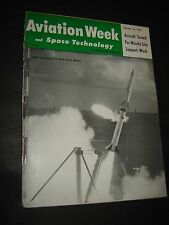 May 16 1960 AVIATION WEEK Space magazine Satellite pictures of the earth
