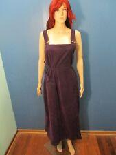 XL purple VELVET ZIP UP JUMPER dress by ERIC CHARLES