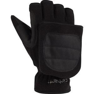 Carhartt A557 TS Flip It insulated Glove Large Black. 1-pair