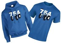 Ford County 754 Vintage Tractor MENS T-Shirt/Hoodie