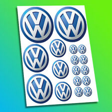 VW Volkswagen Car Vehicle Logo Badge Emblem Racing Tuning Decal Stickers