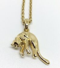 Rare Cartier 18k Yellow Gold Panthere Necklace Certificate