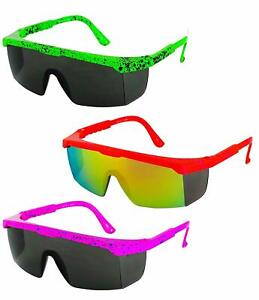 Retro Futuristic Wrap Around Sunglasses for Men Glasses