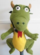 Dragon Puppet Ventriloquist,Play.Educational with a moving mouth