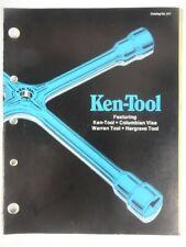 1979 Vintage KEN-TOOL Automotive Mechanics Tools JOBBERS SELL SHEET AND CATALOG