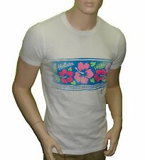 NWT Hollister Hco Floral Summer Tee T-shirt XL White