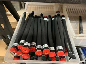 13 x CHAMP C2 SOFT ARTHRITIC 60R STD MIDSIZE JUMBO GOLF GRIPS NEW BLACK BLUE RED
