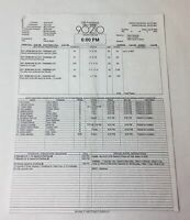 2008 CBS 90210 set used CALL SHEET Season 1 Episode 3