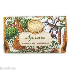 Michel Design Works Large 8.7 oz Artisanal Bar Bath Soap Spruce - NEW