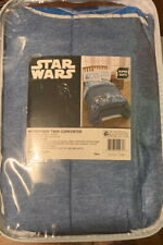 Disney Star Wars Classic Logo Kids' Soft Microfiber Reversible TWIN Comforter