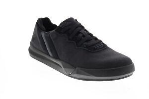 Skechers Norsen Valo 66371 Mens Black Canvas Lifestyle Sneakers Shoes