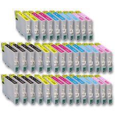 38x Patronen für Drucker Epson Stylus Photo PX720 WD PX730 WD mit Chip
