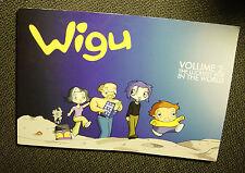 Jeffrey T. Rowland: Wigu-VOLUME 2: The Luckiest Boy In The World (signed) 2003