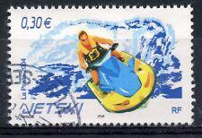 STAMP / TIMBRE FRANCE OBLITERE N° 3698 SPORT DE GLISSE / JET SKI