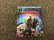 HOW TO TRAIN YOUR DRAGON THE HIDDEN WORLD BLU RAY / DVD / DIGITAL