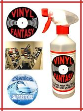 Vinyl Fantasy - Record Cleaner & Protector - Anti Static Cleaning Fluid - 500ml