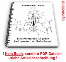 Kronleuchter selbst bauen - Lüster Luster Leuchter Technik Patente
