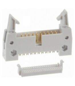 IDC connector male for flat 20 way with extractors