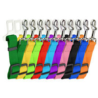 Pet Car Seat Belt Safety Seatbelt Harness Leash Lead Dog Adjustable Sales