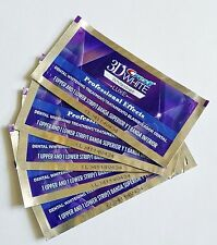 Crest 3D White Whitening Luxe Whitestrips Professional Effects 5 Pouch 10 Strips