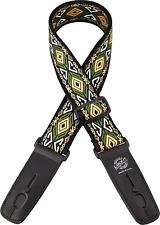 lock-it Retro Serie - 5.1cm ancha cierre correa de guitarra -emerald ISLA Diseño
