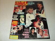 SALUT 1989/042 (21/6/89) MADONNA GAINSBOURG MIGUEL BOSE MICHAEL JACKSON BROS