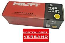 10x10 Hilti DX Kartusche 6.8/18 M 10 gelb  Cartridges NEU DX 76 DX 750