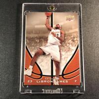 LEBRON JAMES 2008 UPPER DECK #LJ STARTING FIVE CARD PROMO CARD CAVALIERS NBA