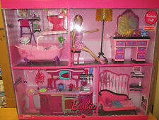 2008 BARBIE DOLL & FURNITURE  GIFT SET....TARGET EXCLUSIVE......NRFB