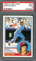 Mike Schmidt Card 1983 O-Pee-Chee #300 Philadelphia Phillies (Look) PSA 9
