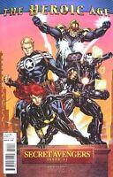 SECRET AVENGERS #1 HEROIC AGE HC 1:15 VARIANT COVER MARVEL COMIC BOOK IRON MAN
