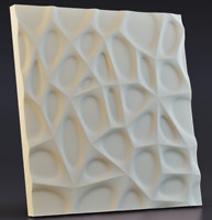 ABS Plastic mold for Plaster Form 3D Wall Panels 1 pcs for Decorative Сobweb