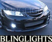 2005 2006 2007 Mazdaspeed 6 Xenon Fog Lamps Driving Lights foglights Kit