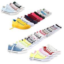 Sportliche Damen Sneakers 97316 Nieten Flach  Schnürer Schuhe 36-42 Hot