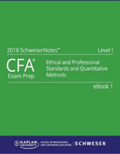 Textbooks educational books ebay cfa level 1 2018 kaplan schweser notesbooks 1 5 practice exam fandeluxe Gallery
